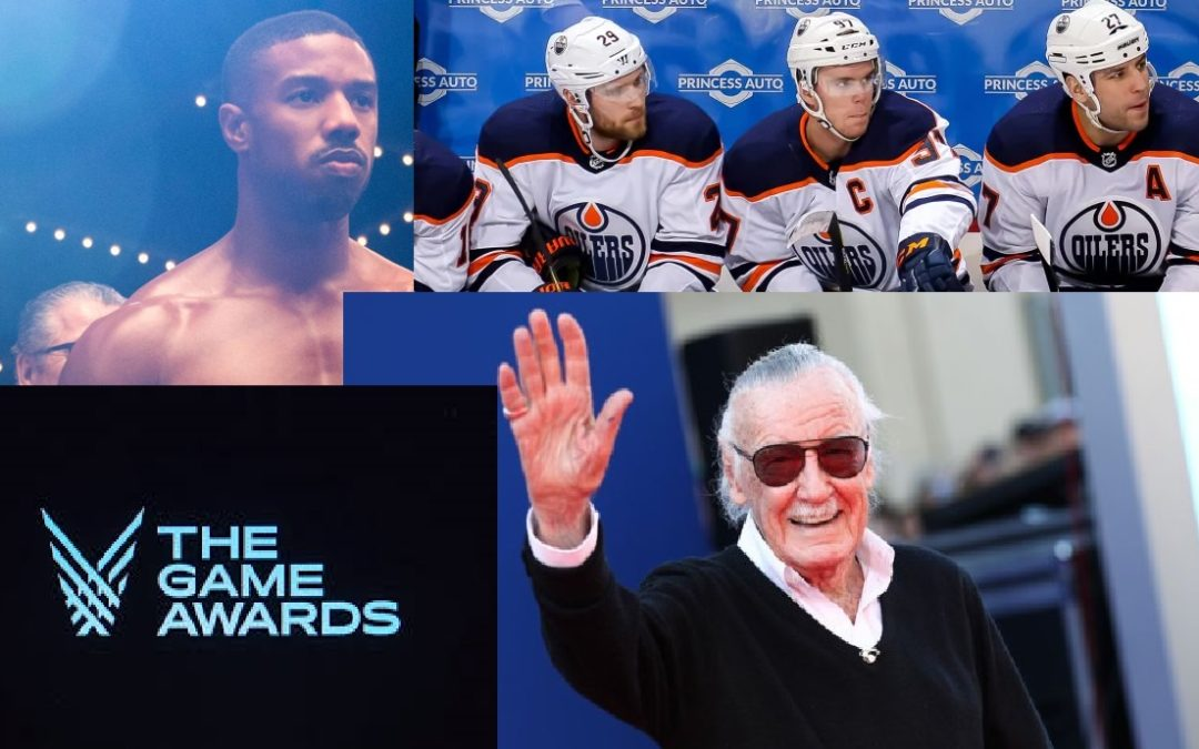 Sidekicks Anonymous Podcast: Episode 12 – Chill Session – Stan Lee, Edmonton Oilers, Creed 2, & Video Game Awards