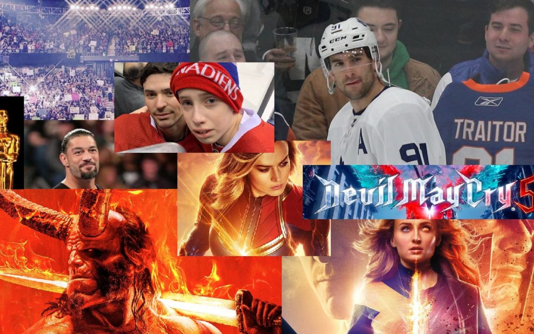 Sidekicks Anonymous Podcast: Episode 25 – Chill Session – Captain Marvel Scores, Carey Price, John Tavares, and Roman Reigns Returns