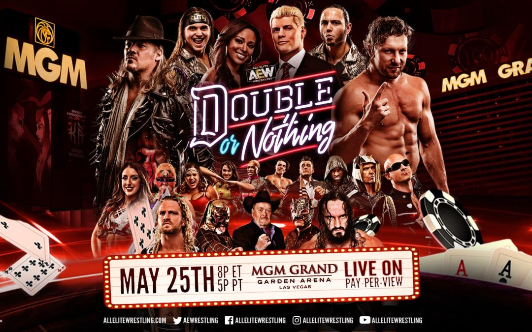 Sidekicks Anonymous Podcast: Episode 39 – AEW Double or Nothing Review