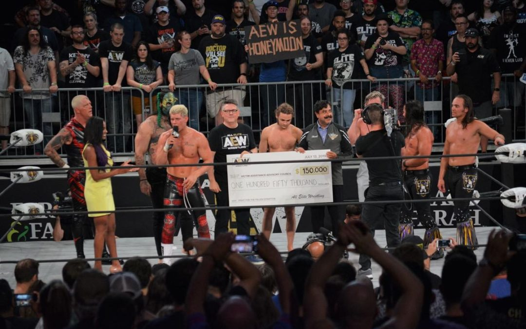 Sidekicks Anonymous Podcast: Episode 44 – AEW's Fight For The Fallen Review