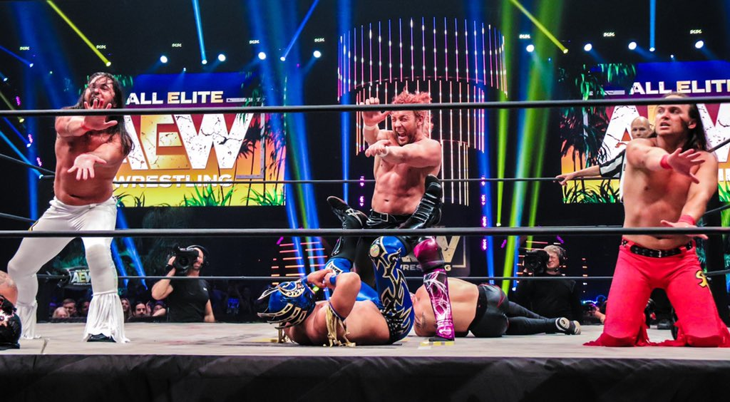 Sidekicks Anonymous Podcast: Episode 42 – AEW – Fyter Fest Review