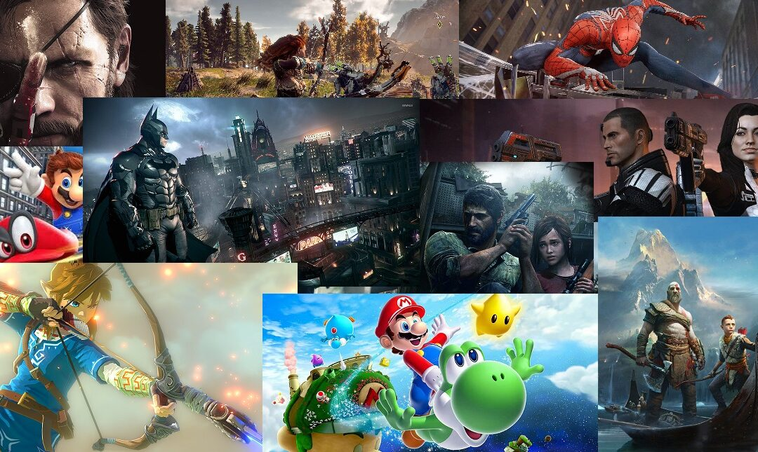 Sidekicks Anonymous Podcast: Episode 60 – Top 10 Video Games of the Decade
